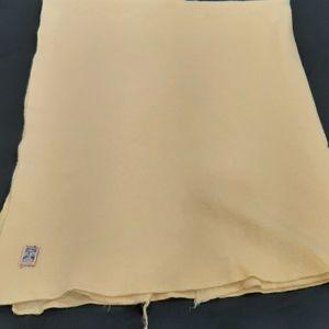 Vintage Kenwood wool blanket as is 53 by 62